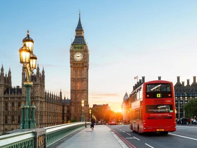 melhores cidades da Europa para visitar londres
