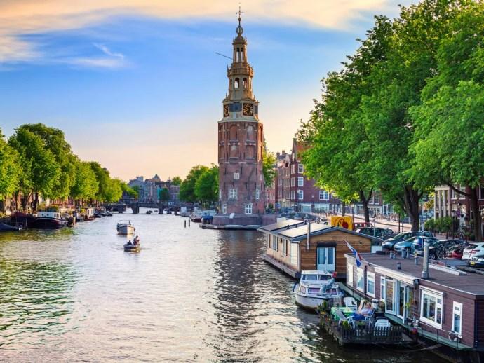 melhores cidades da Europa para visitar amsterdam