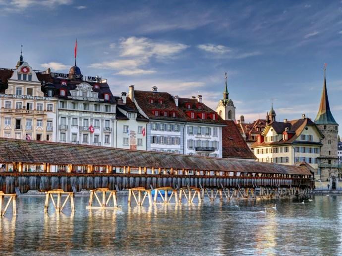 melhores cidades da Europa para visitar lucerna
