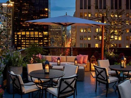 17 Best Rooftop Bars In New York City Cond Nast Traveler