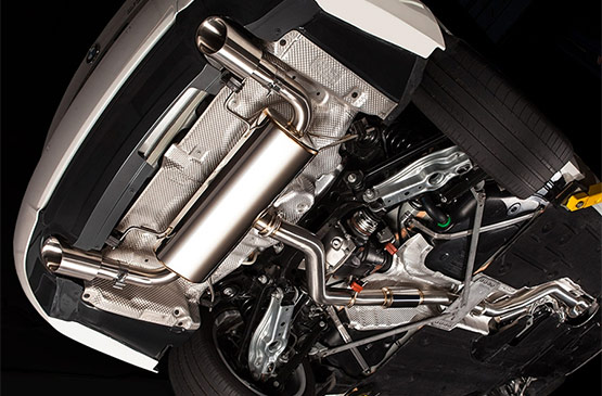 bmw 3 series cat back exhaust system