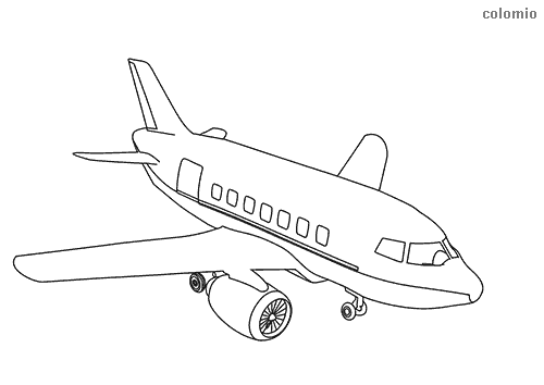 Airplanes Coloring Pages Free Printable Airplane Coloring Sheets
