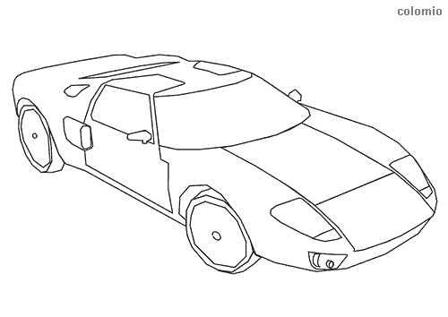 Cars Coloring Pages Free Printable Car Coloring Sheets