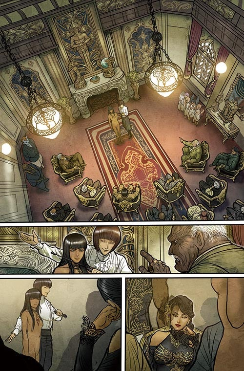 Monstress #1 - Page Two