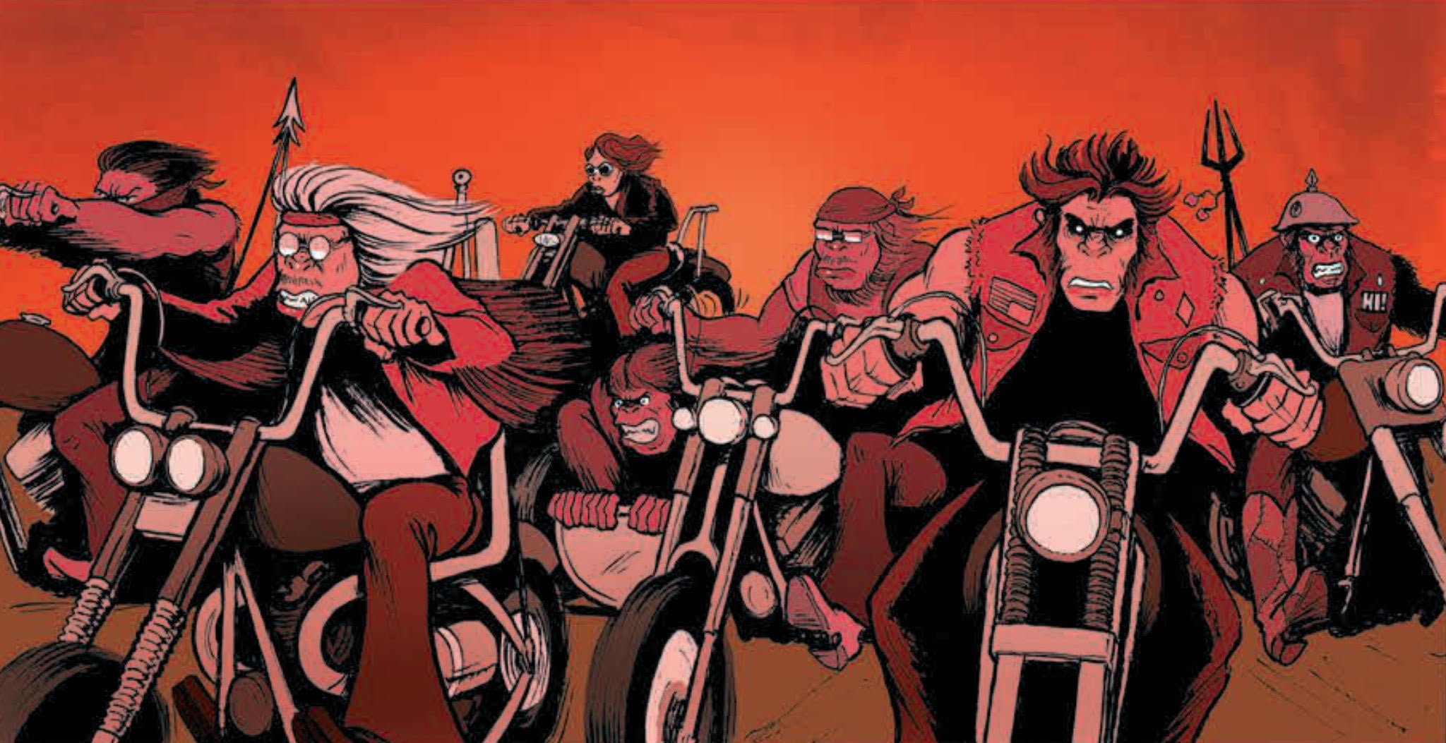 The Humans #8 - Review