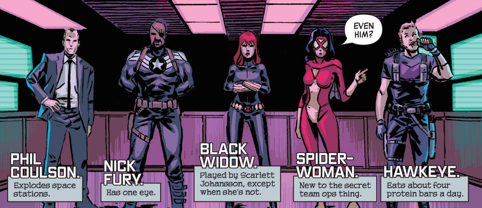 Secret Avengers by Michael Walsh and Matthew Wilson