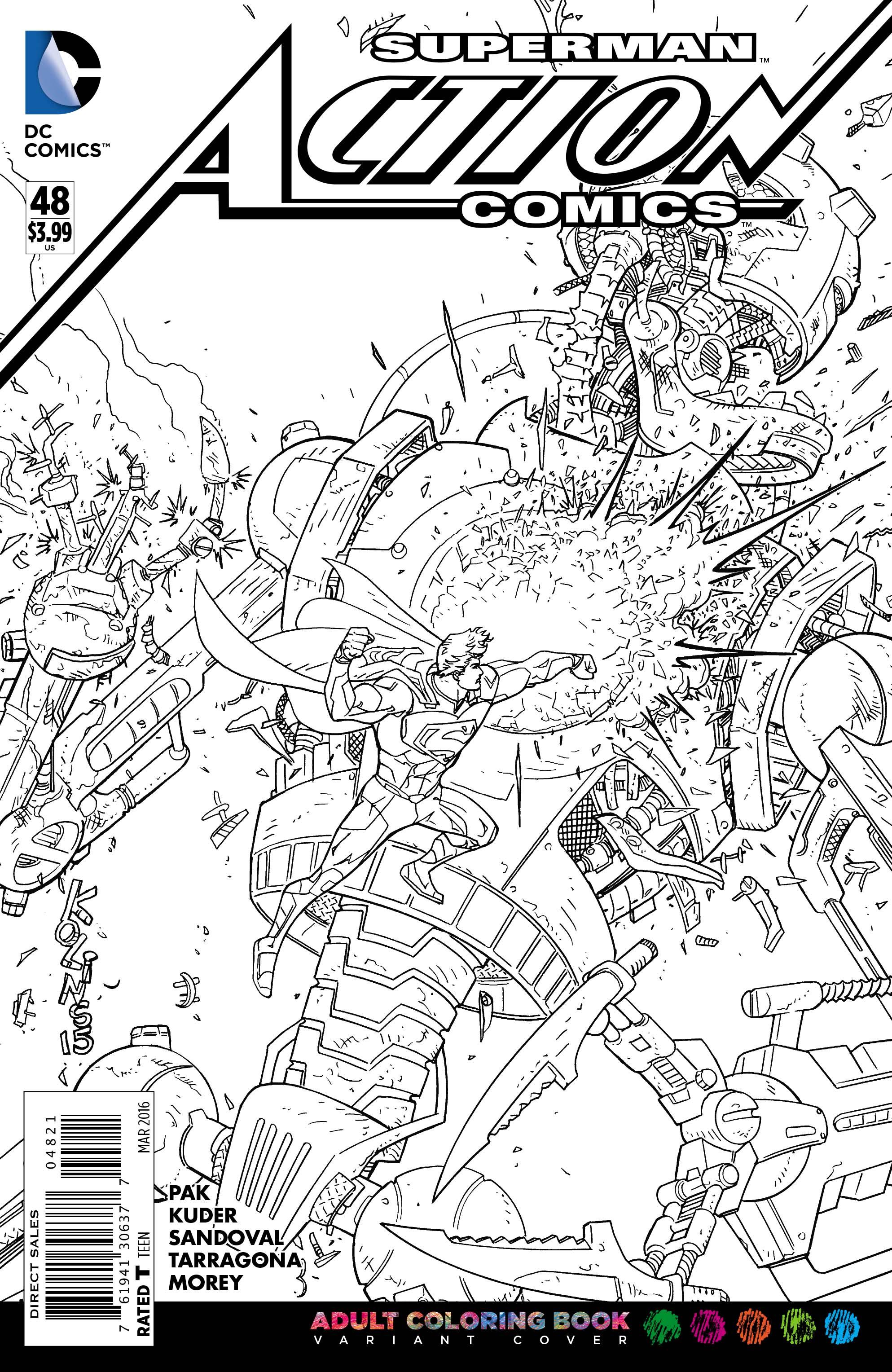 dc comics adult coloring book variants revealed