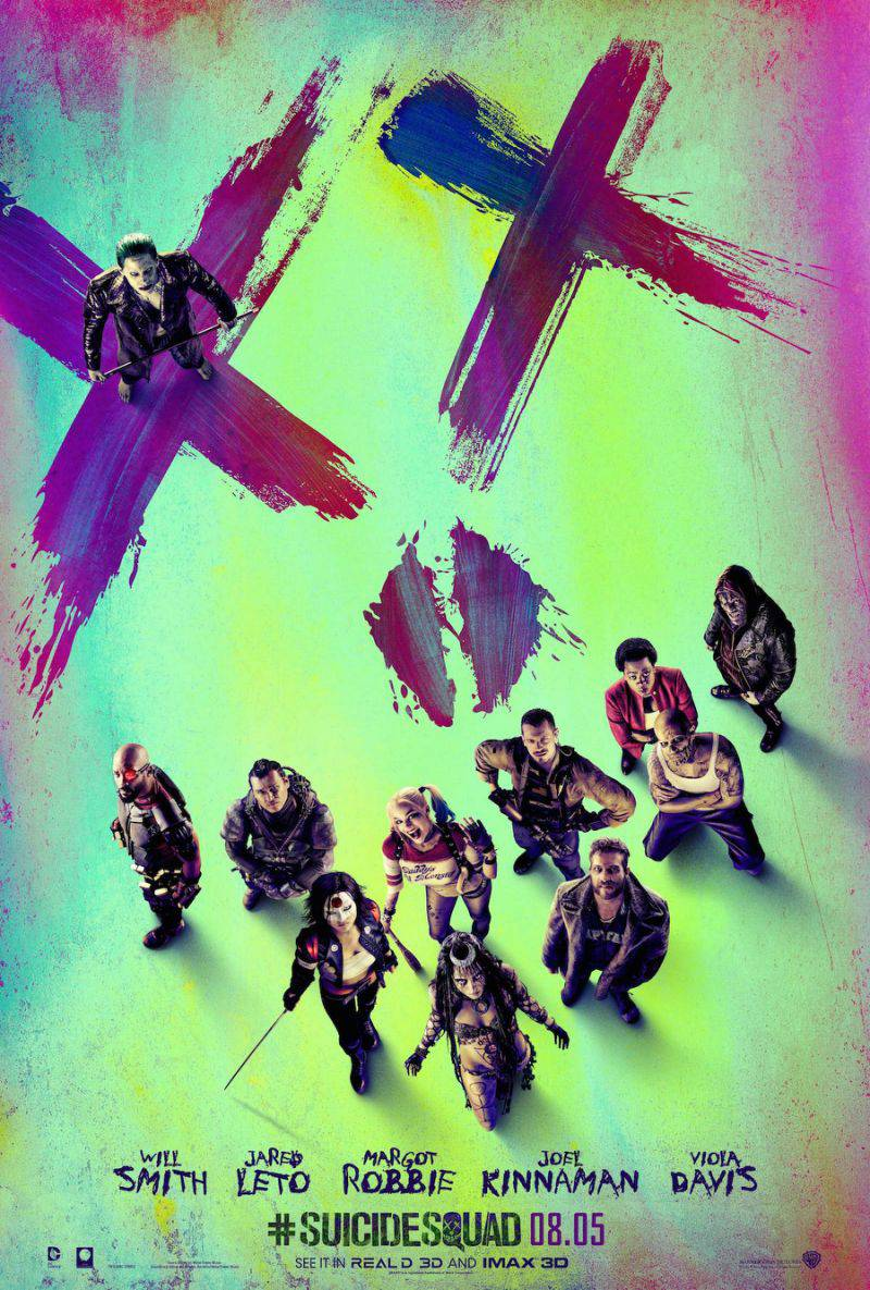 Image result for suicide squad poster 2016