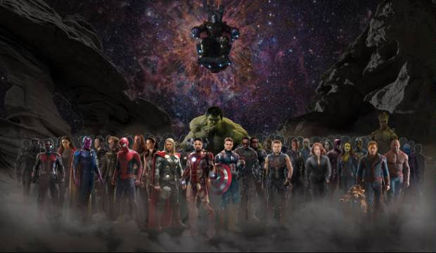 Our First Look At Avengers Infinity War