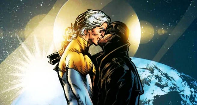 Apollo and Midnighter Romance