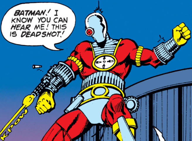 Deadshot Detective Comics 474