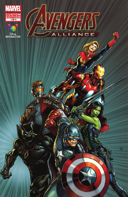 Avengers Alliance cover