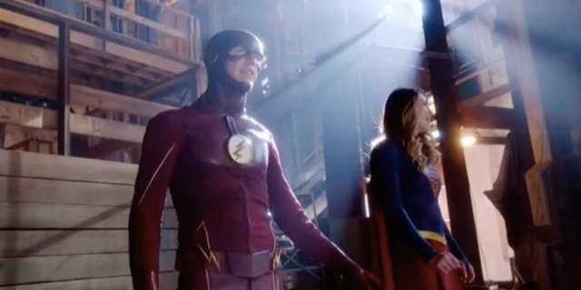 Supergirl Arrow The Flash And Legends Crossover Planned