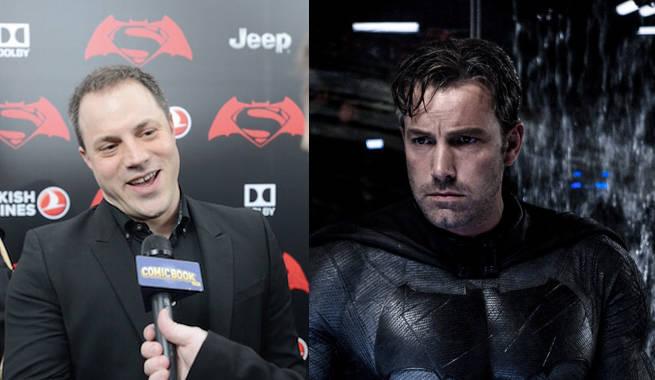 Batman V Superman's Ben Affleck Calls Geoff Johns A Genius
