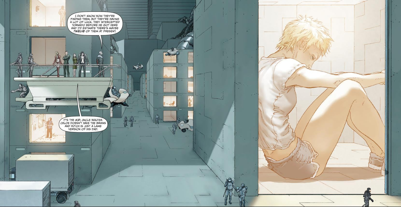 Jupiters Legacy 1 - Prison - Frank Quitely