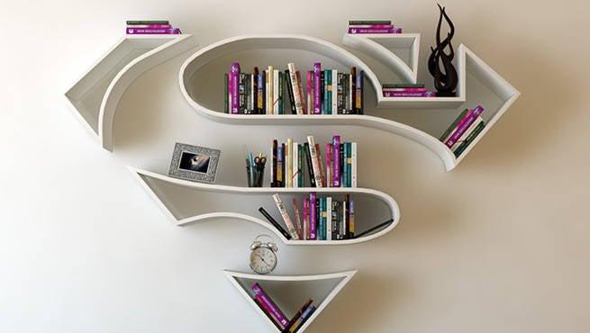 Superhero Bookshelf Designs Are Amazing