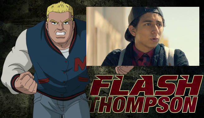 Image result for flash thompson homecoming