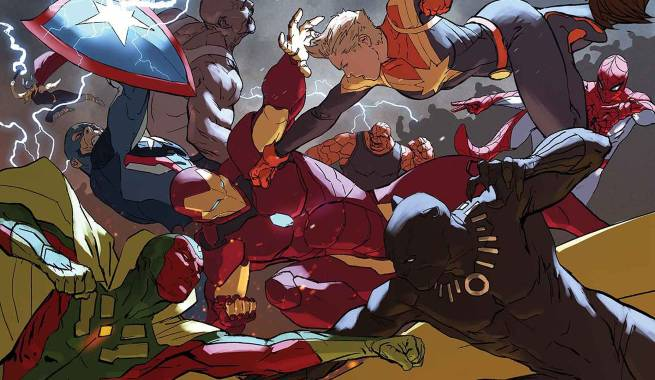 Image result for civil war II #5