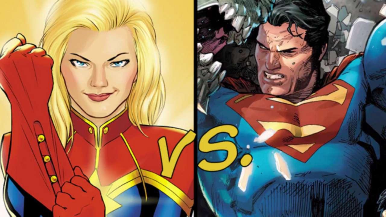 comicbook's dc vs marvel: superman vs captain marvel