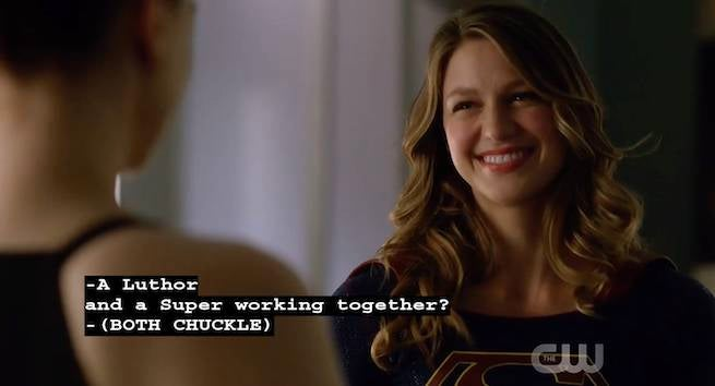 Supergirl Lena Luther