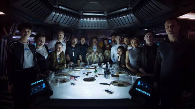 Alien: Covenant - ecco l'equipaggio della nave, il 22 febbraio un nuovo trailer?