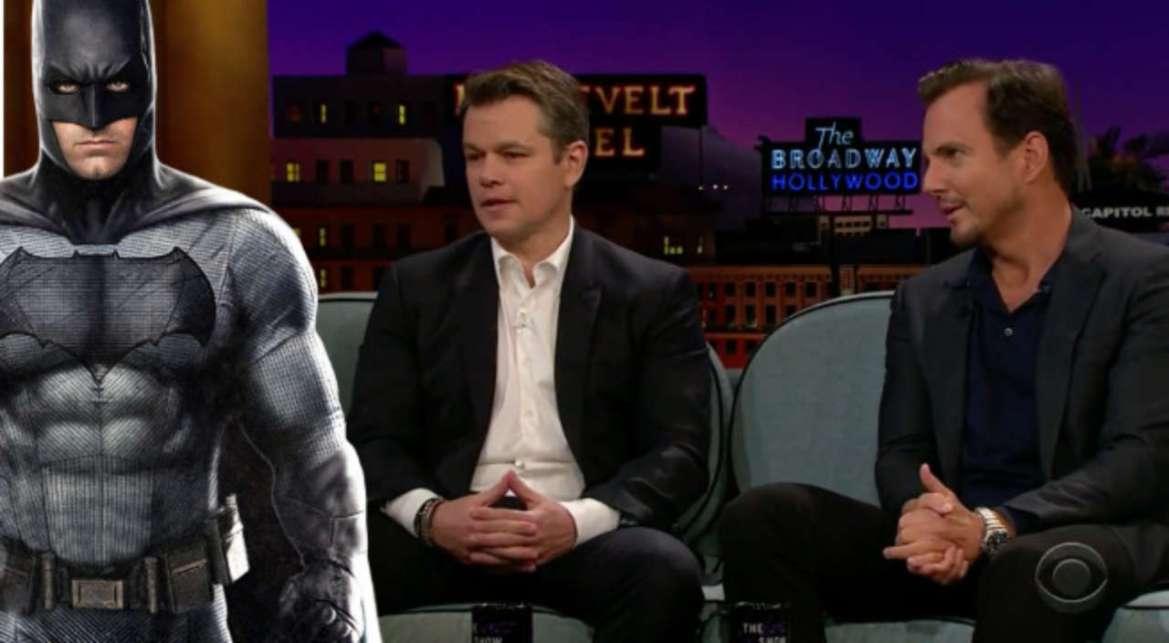 Matt Damon In Batman