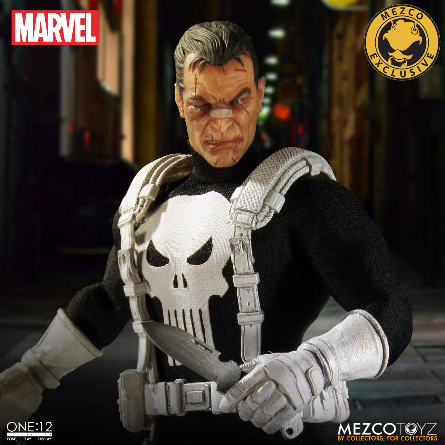 Punisher Mezco One12 Figure Up For Pre Order