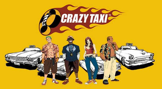 Image result for crazy taxi