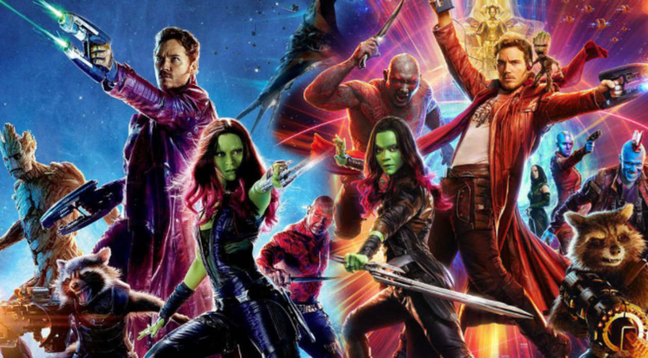 Image result for guardians of the galaxy 1 and 2