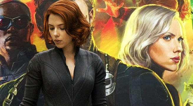 Black Widow The Avengers Infinity War