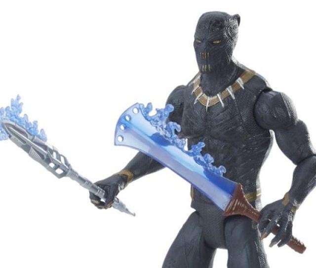 Marvels Black Panther Killmonger Golden Jaguar