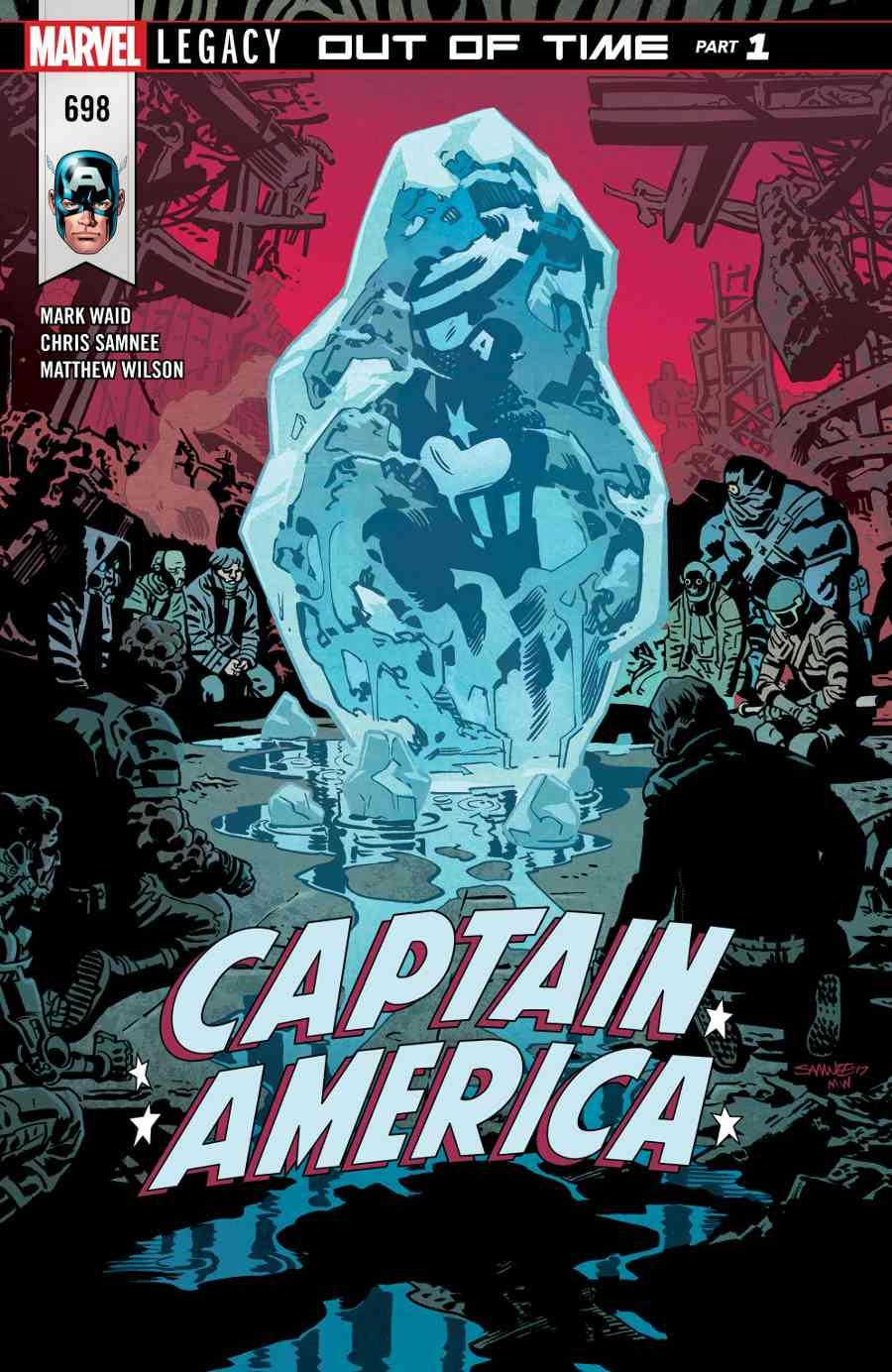 Captain America 698
