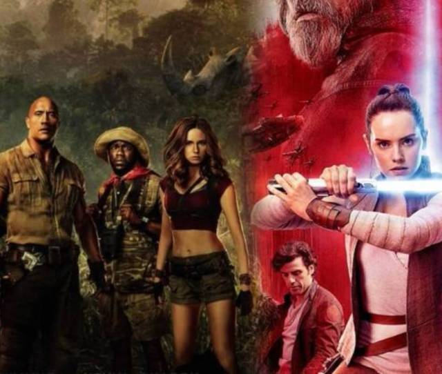 Jumanji Could Unseat Star Wars At Top Of Box Office This Holiday Weekend