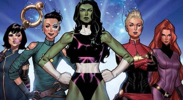 Image result for Karen Gillan Says Now Is the Time for All-Female Marvel Movie