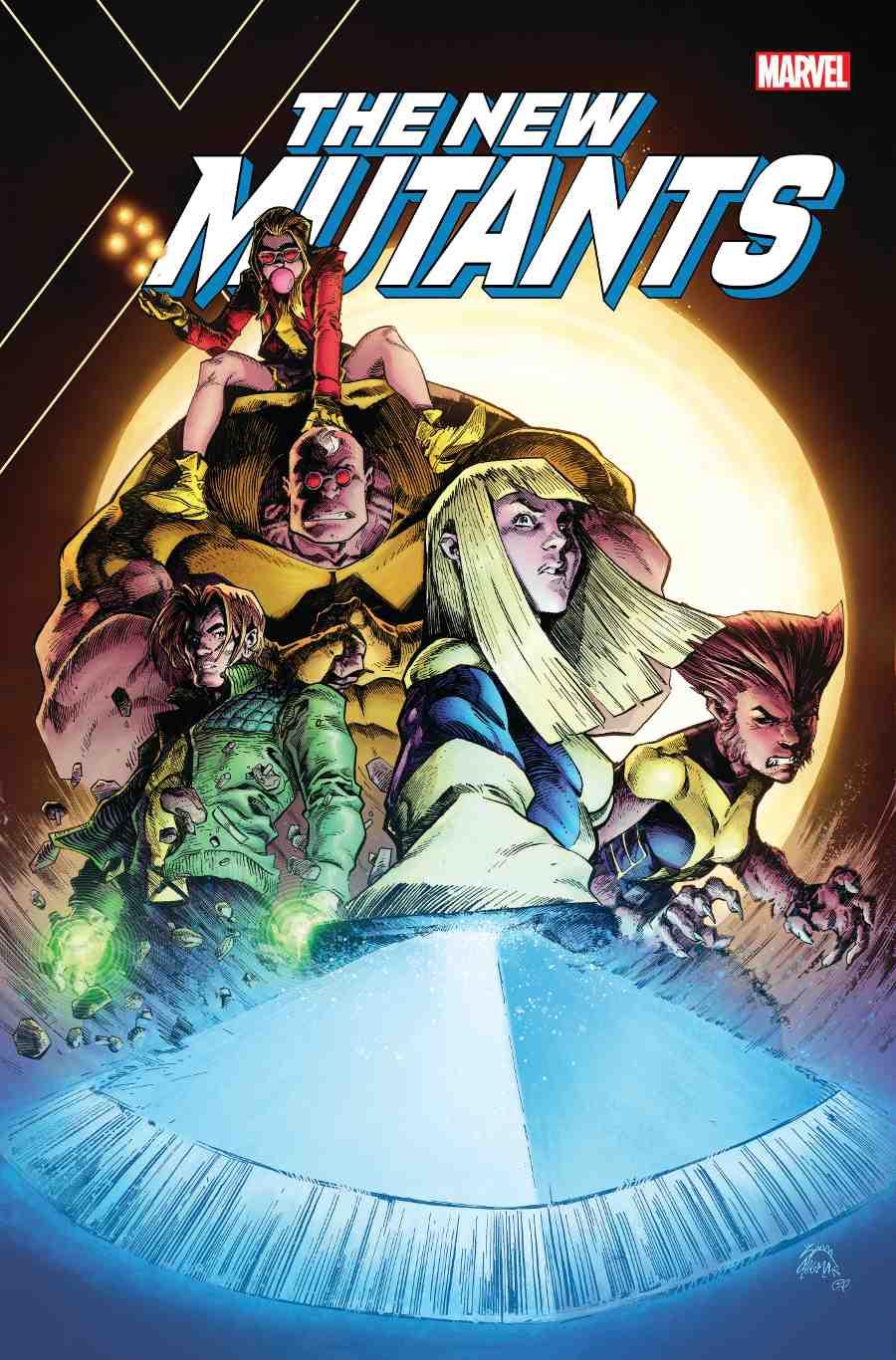 New Mutants Dead Souls 1