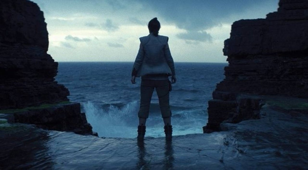 Image result for rey looking at water