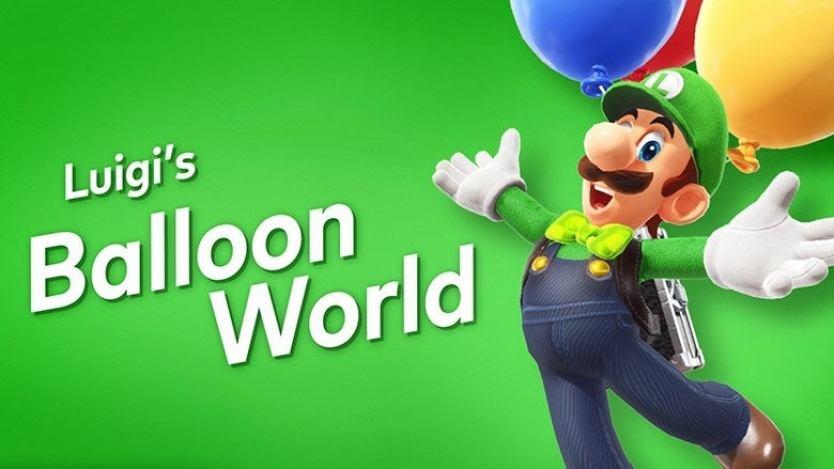 Image result for Super Mario OdysseyDLC: Balloon World