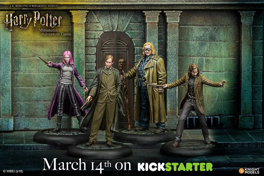Harry Potter Miniatures Adventure Game Is Coming To Kickstarter Harry Potter Adventure Game 02
