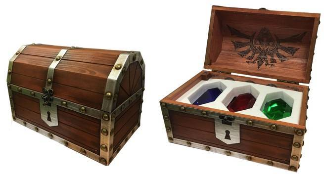 This Official Legend Of Zelda Rupee Chest Is A Beautiful