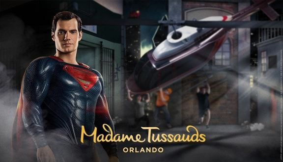 Justice League Madame Tussauds Superman