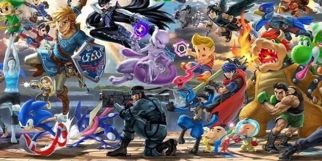 Super Smash Bros Ultimate Roster Trailer Revealed