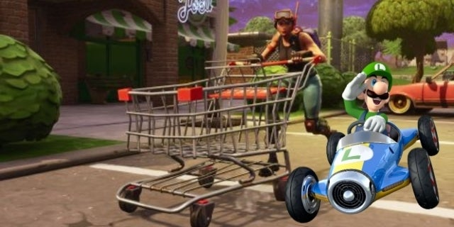 Fortnite Mario Kart Invades The Battle Royale Game In The Best Way Possible