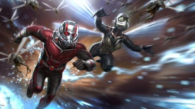 Ant-Man and the Wasp Avengers 3 4 connections