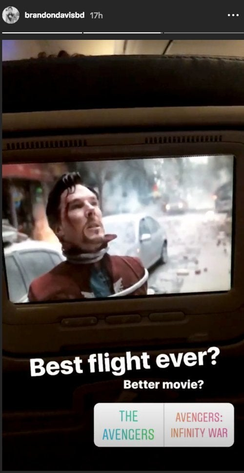 Avengers Infinity War on a Plane BD_2