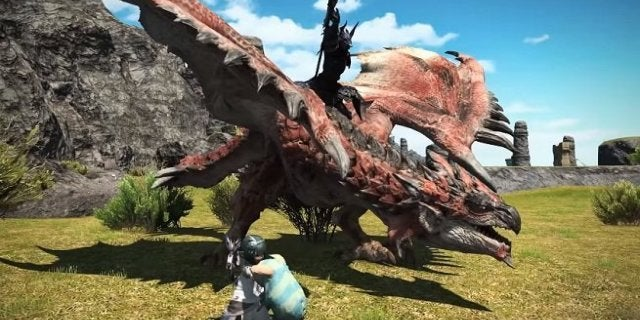 Monster Hunter Worlds Rathalos Is Coming To Final Fantasy XIV