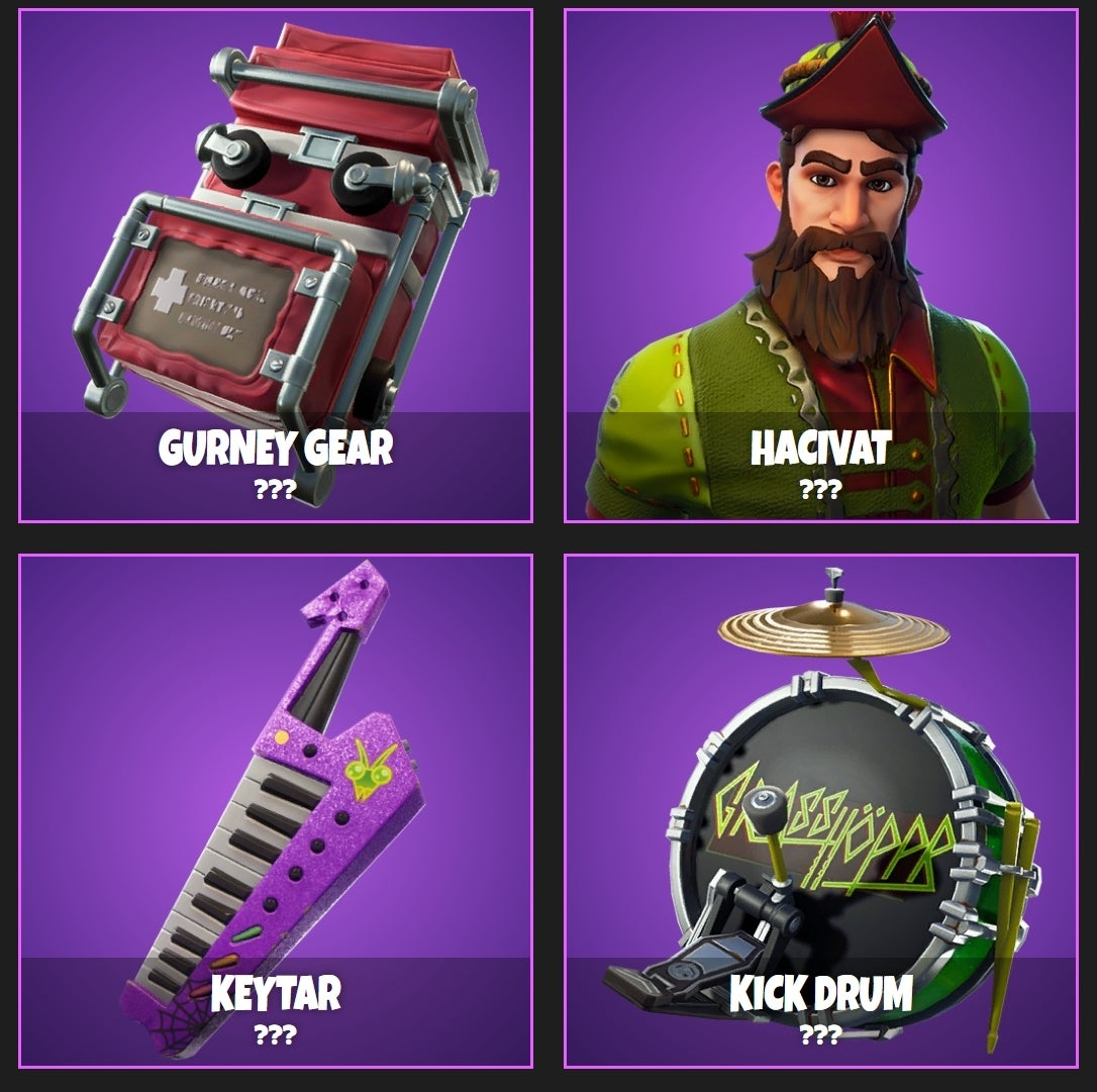 Fortnite Leak Promises Tons Of New Cosmetic Options Ghost