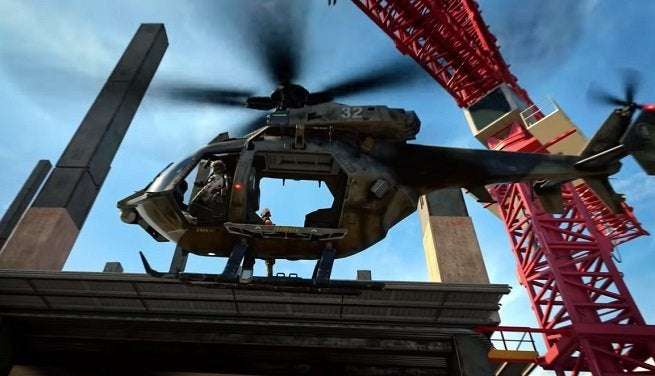 Call of Duty Black Ops 4 Tactical Helicopter