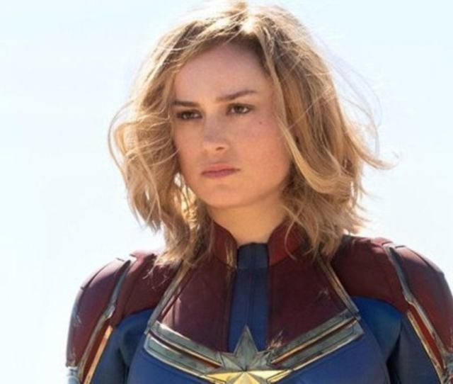 Captain Marvel Brie Larson Addresses The Smiling Controversy