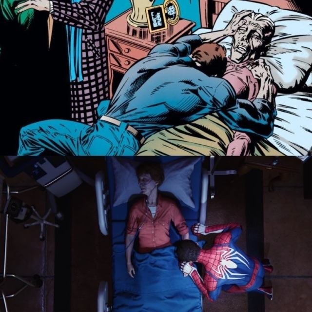 Spider-Man 400 Spider-Man PS4 Aunt May comicbook.com