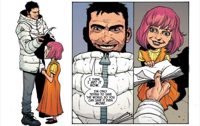 Moon Knight #200 Review - Little Girl